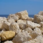 Breakwater Rocks at Gimli MB
