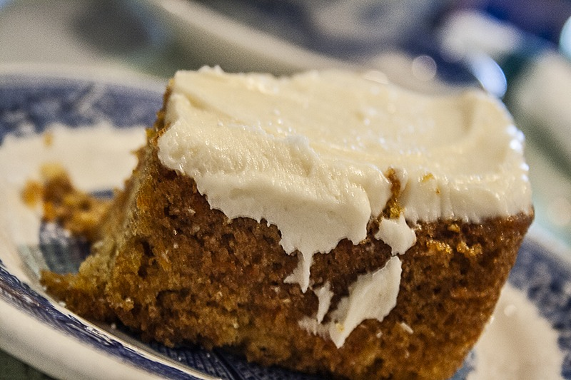 Carrot Cake, Maple Grove Tea Room - St. Andrew's MB