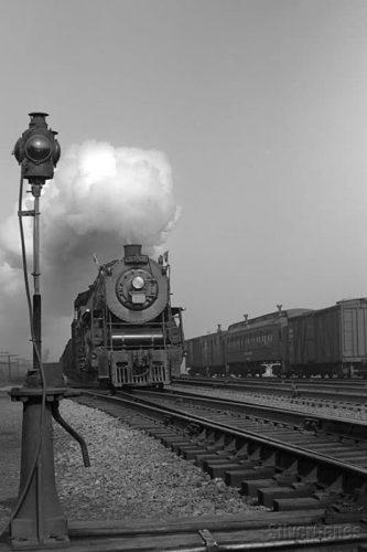 Steam Locomotive, Port Credit ON